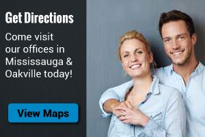 Get Directions - come visit our offices in Mississauga & Oakville today!